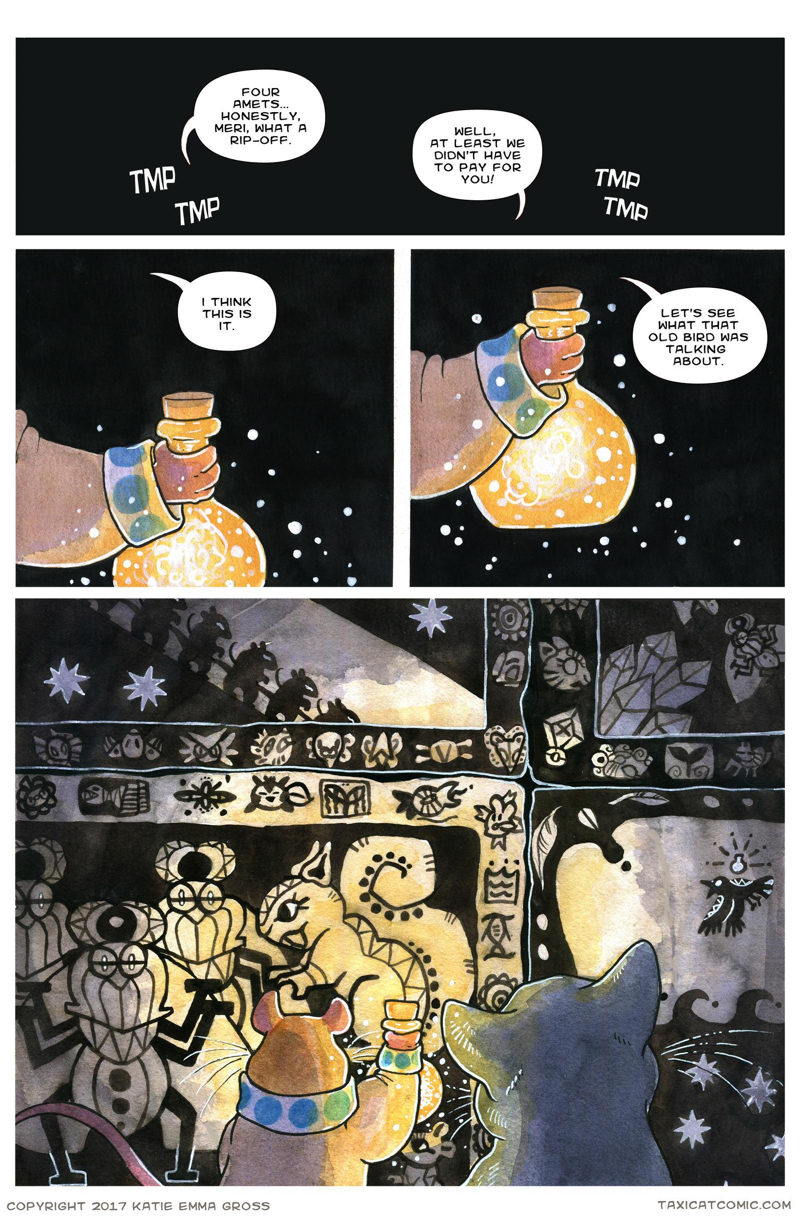 CH 1, Page 37- Mythos Mosaic by owlburrow