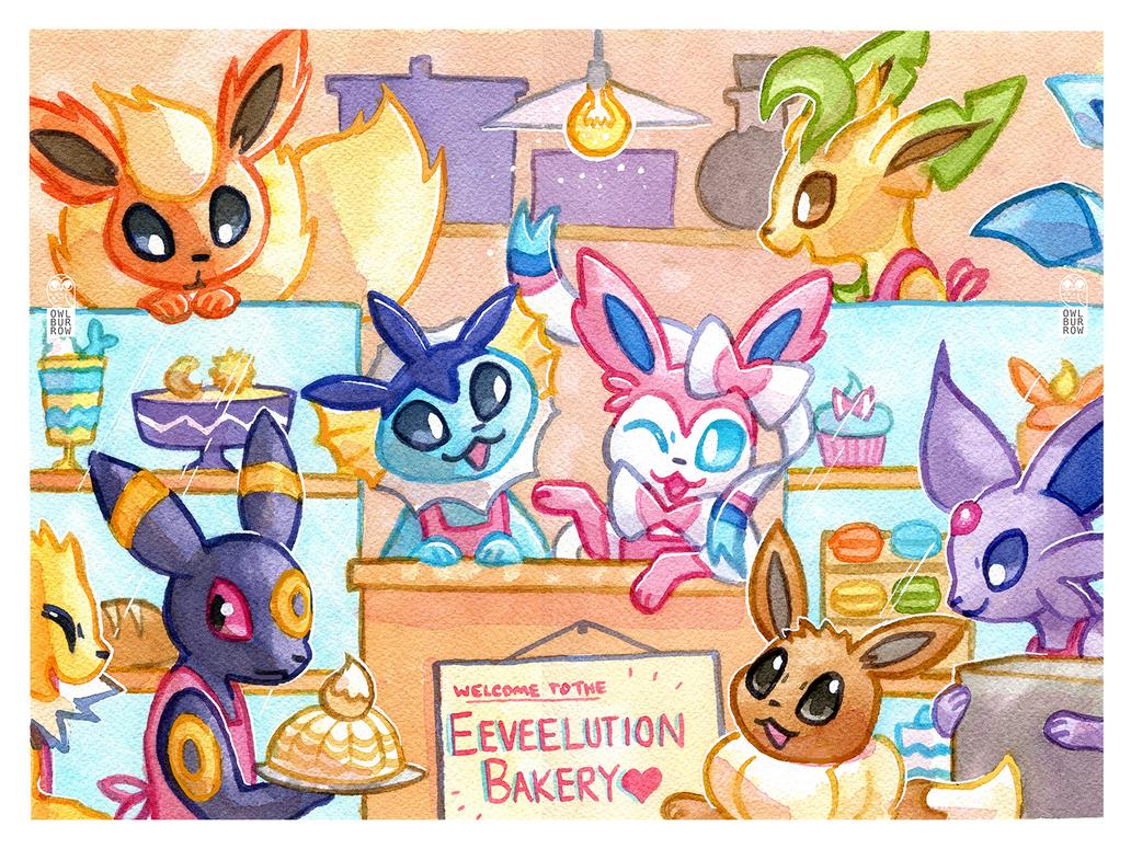 Eeveelution Bakery