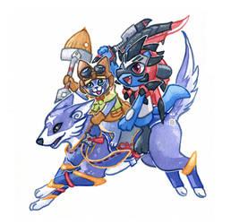 Pokemon x Monster Hunter