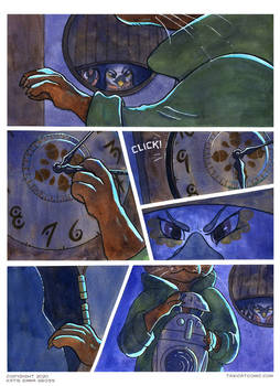 Taxicat CH 2, Page 24- Grandfather Clock
