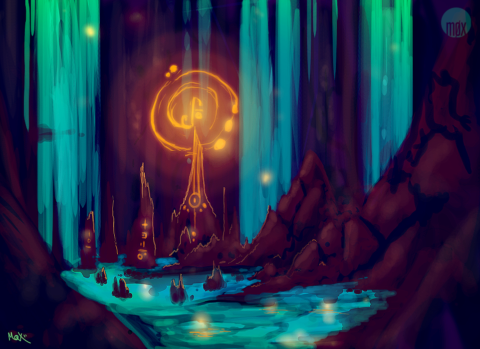 + Speedpaint: The Augur's Rest by moxiv