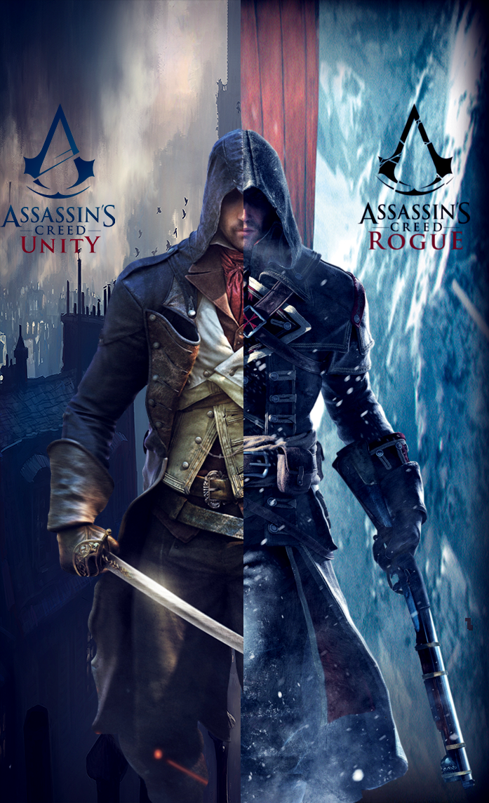 Assassin S Creed Arno Vs Shay By Nonstopplayer96 On Deviantart