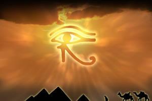 Egypt eye by 1x1x1x1x1x1x1x1x1x1