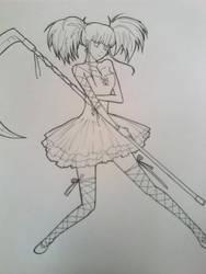 cute girl by mikanatsume913