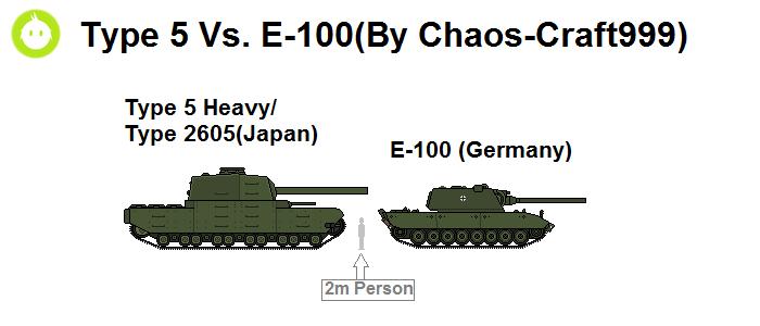 Type 5 Vs  E