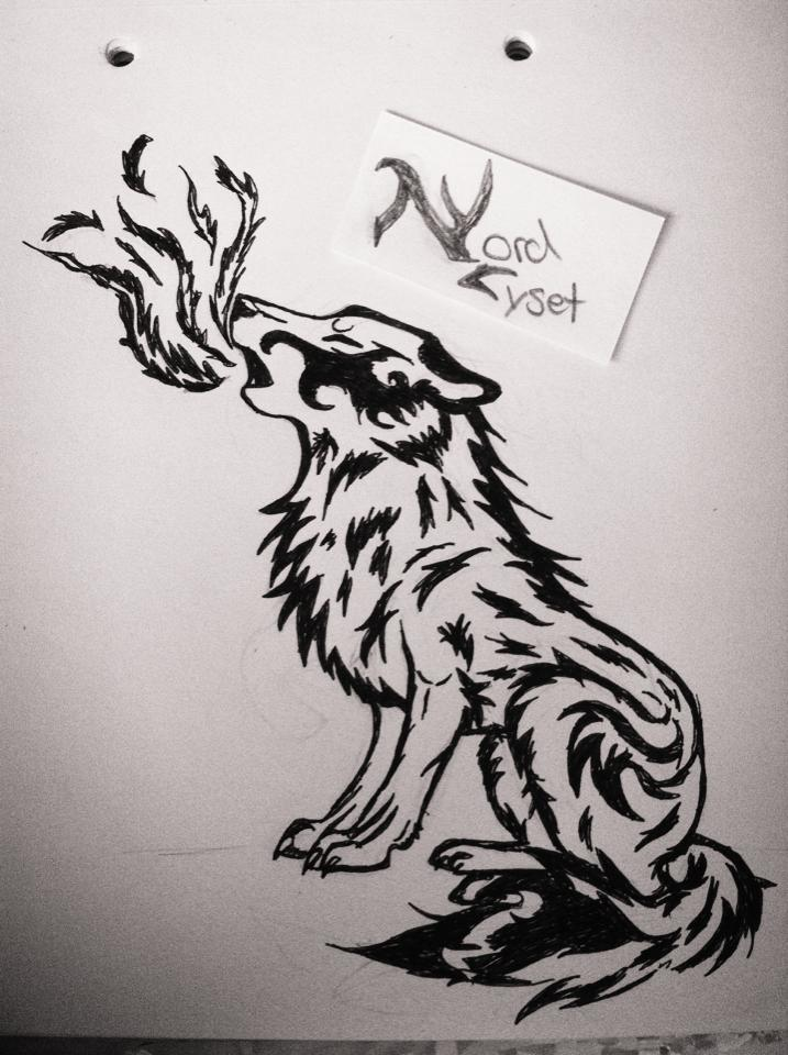 Tribal Tattoo Wolf Howl by NordLyset on DeviantArt
