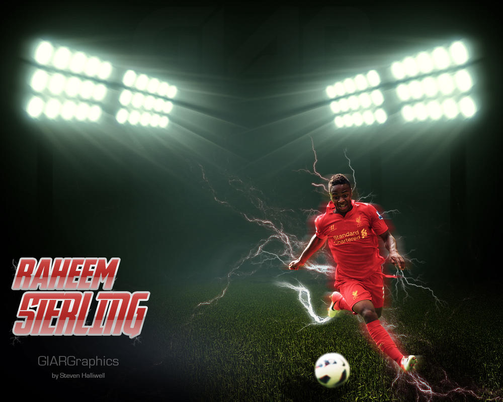 Raheem Sterling LFC #lightningfast by GonzalezIsARed