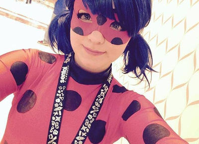 Ladybug Takes Selfies Too by chickalittle