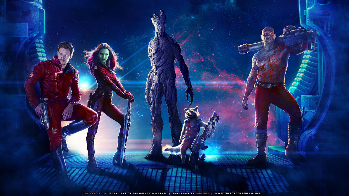 We Are Groot by Red-Eclipse