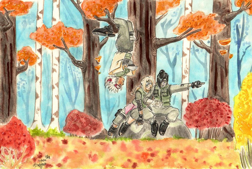 Autumn Sannin Fortnight 2014 by NicodemusLily