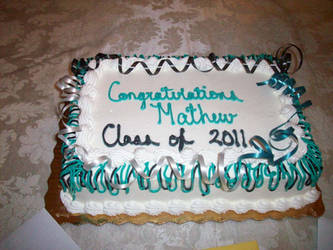 My Graduation day cake. by M-102