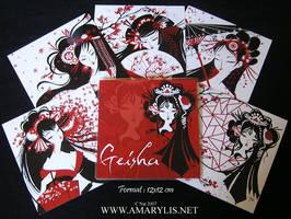 Portfolio Geisha by Nailyce