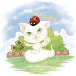 Cute Angels Animals - Cat