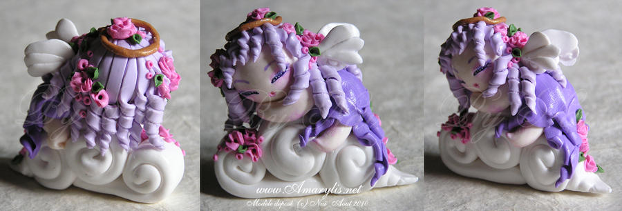 Angel Fimo by Nailyce