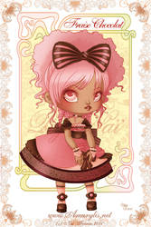 Ice Cream Lolita Choco Fraise by Nailyce