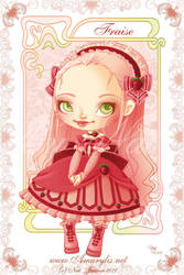 Ice Cream Lolita Fraise by Nailyce