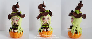 Witch in fimo 04