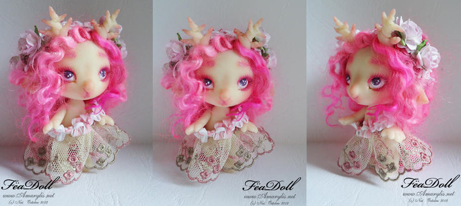 FeaDoll little Deer by Nailyce