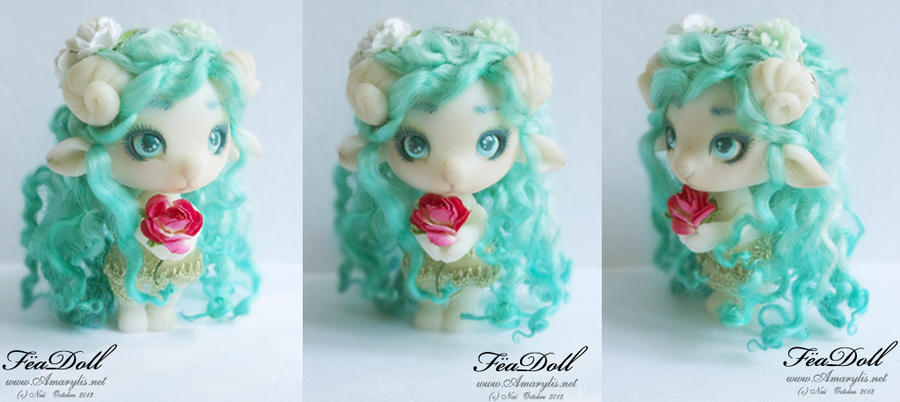 FeaDoll little Sheep by Nailyce