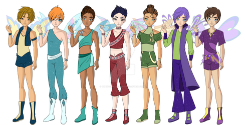 A Different Next Generation Of Winx: Basic Form