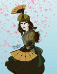Avatar Kyoshi by StarryJaneWatson