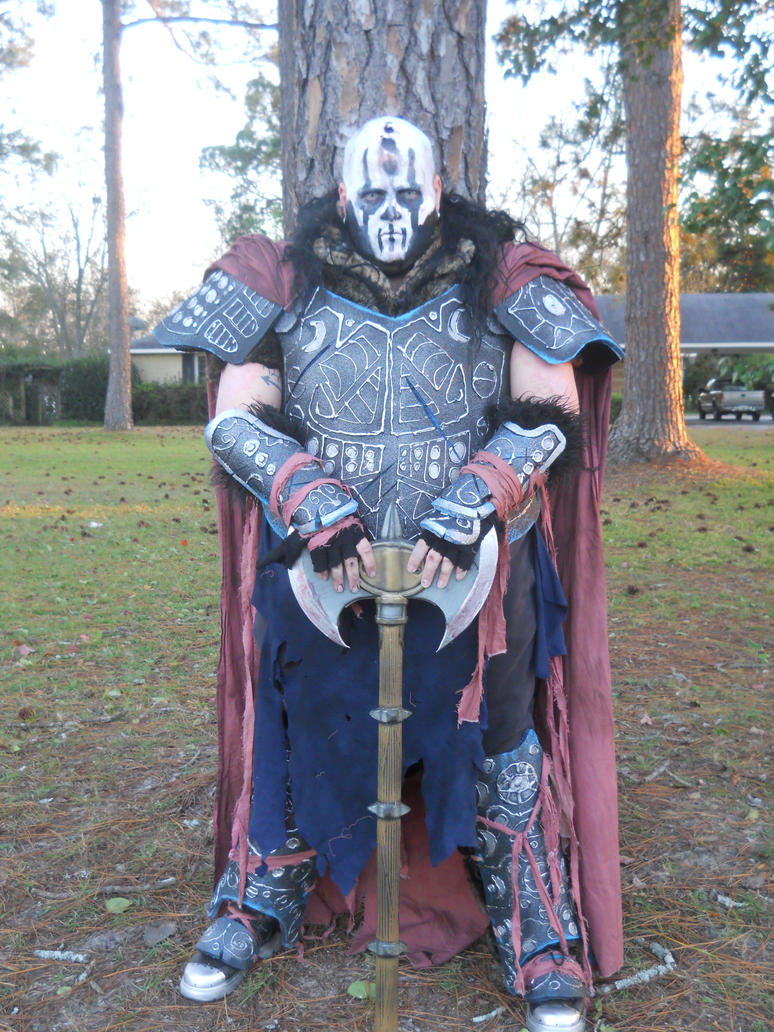 halloween armor costume by swaggerdaddy