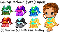 Fantage Victoria (NPC) Dress [FREE TO USE]
