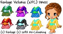 Fantage Victoria (NPC) Dress [FREE TO USE] by safi11