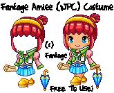 Fantage Amiee (NPC) Costume [FREE TO USE]