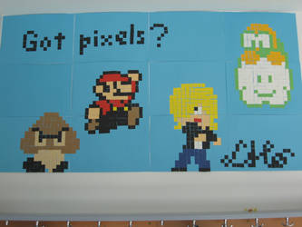 Pixelwall by CasualCasualty
