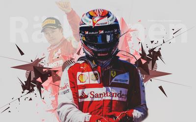 Kimi Raikkonen wallpaper #5 by KRaikkonen7