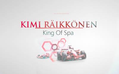 Kimi Raikkonen - King Of Spa by KRaikkonen7