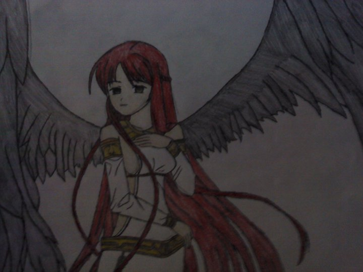 anime fallen angel by ArMoRlEsSNIPER on deviantART