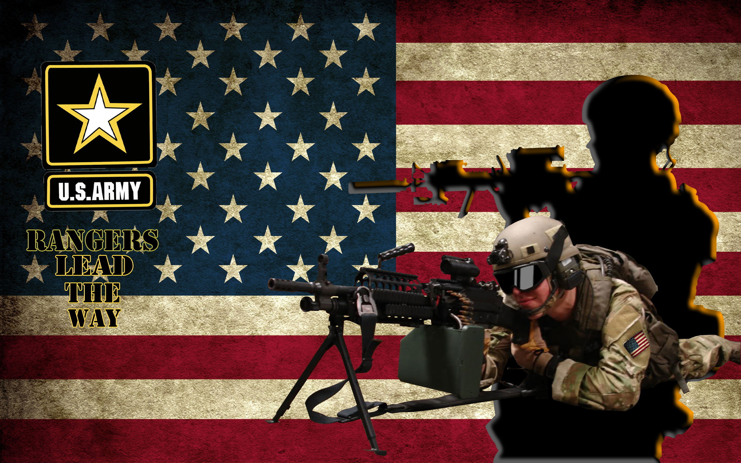 army rangers wallpaper by ArMoRlEsSNIPER