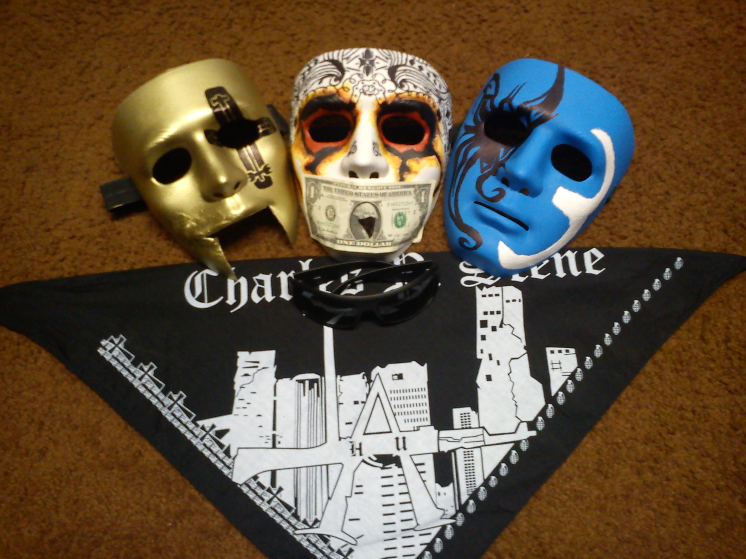Hollywood Undead New Masks Three 697 WSOURCE