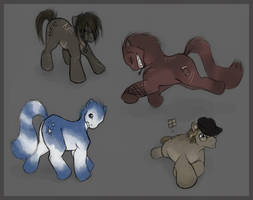 little ponies by tigrin