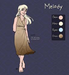 char sheet - Melody by tigrin