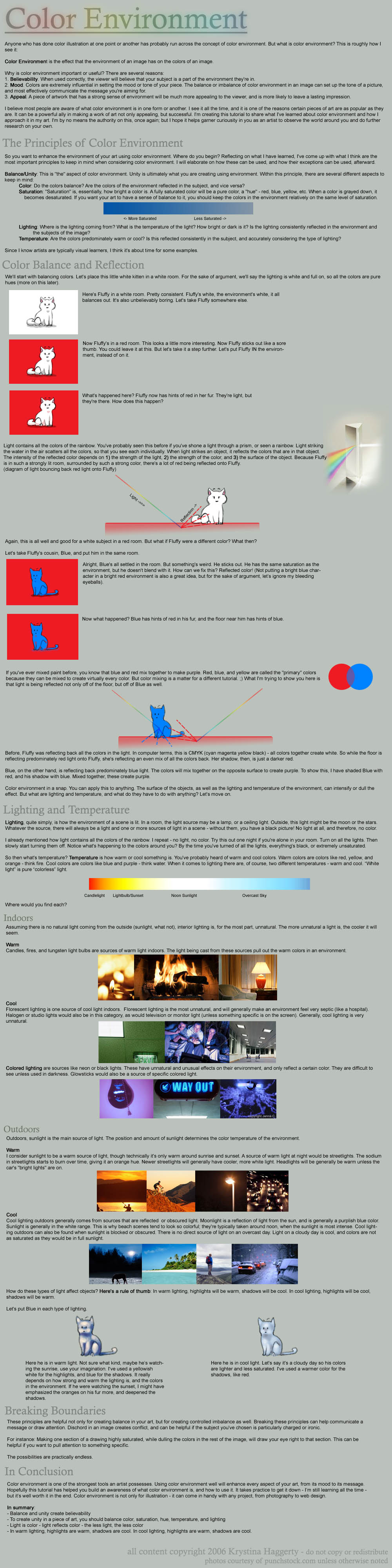 Color Environment by tigrin