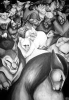 illust - Furrecats by tigrin