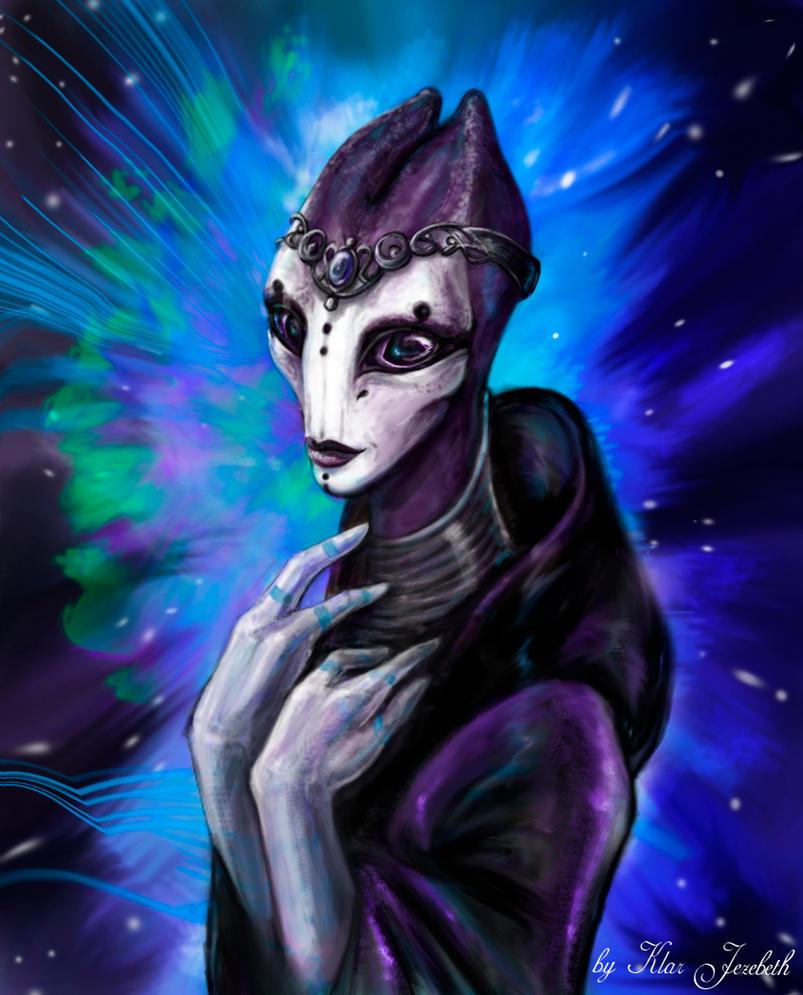 Salarian Princess by Klar-Jezebeth