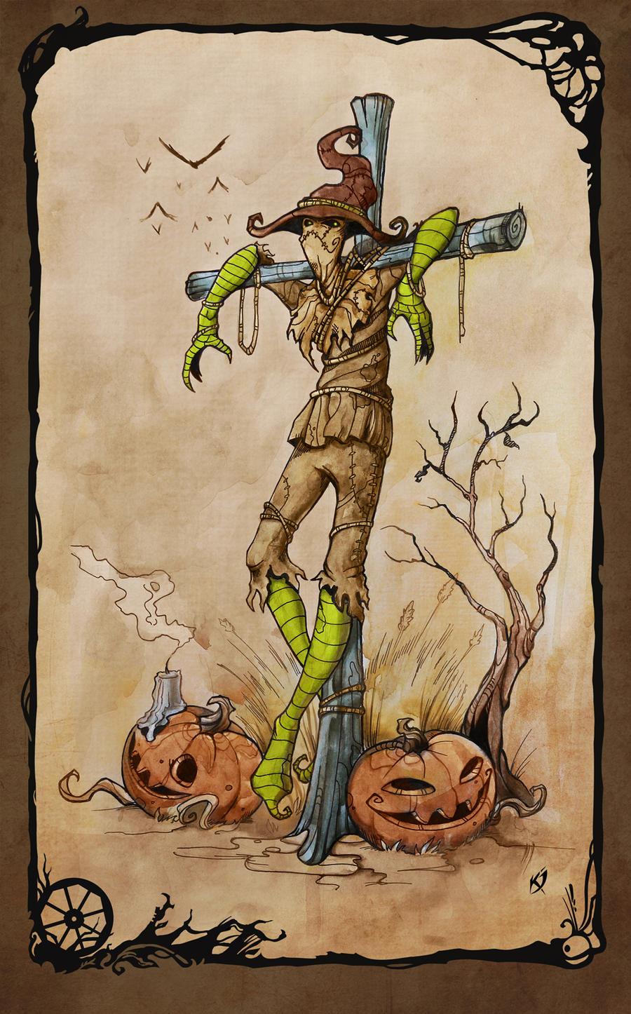 Scarecrow by Klar-Jezebeth