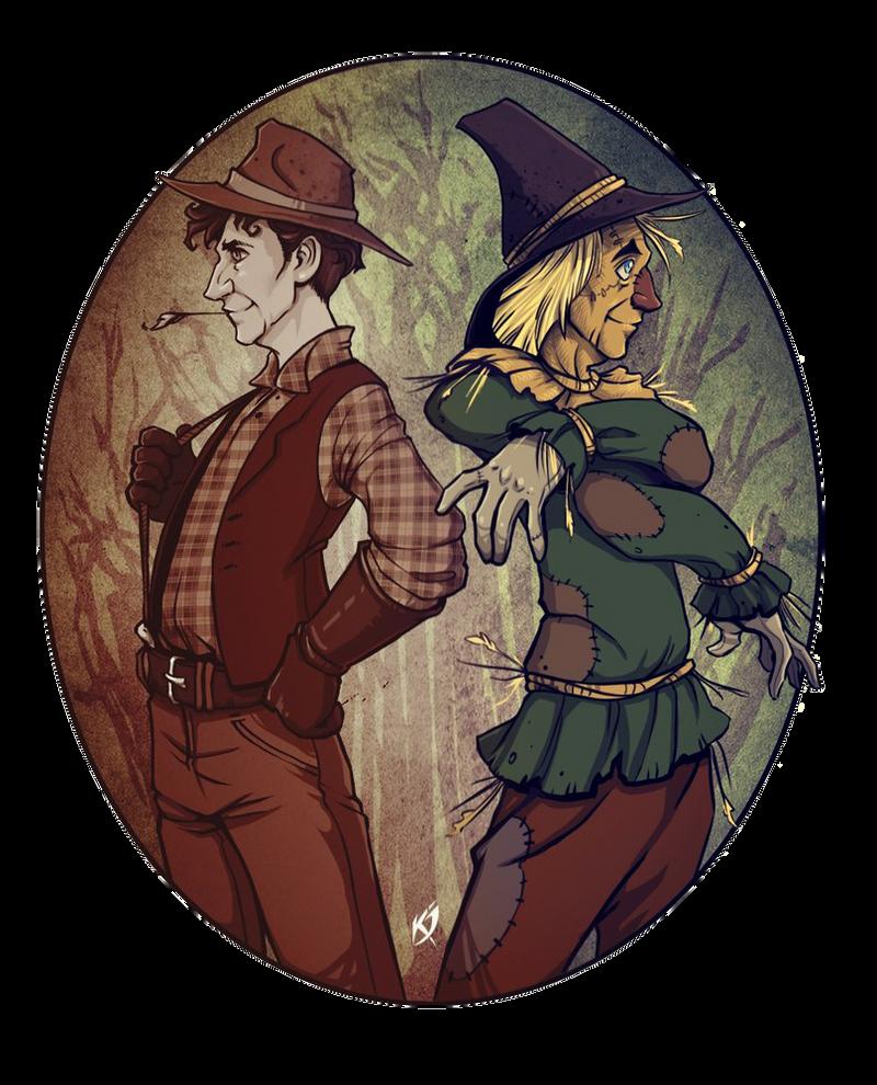 Scarecrow from Oz by Klar-Jezebeth