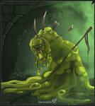 Cursed Ooze by Klar-Jezebeth