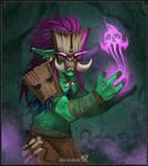 Voodoo Troll by Klar-Jezebeth