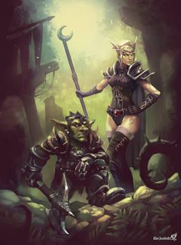 Goblin and Sin'dorei