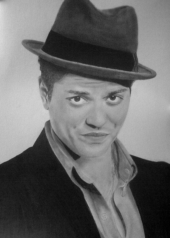 Bruno Mars by xjorieke