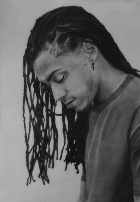 Drawing of Bluey Robinson by xjorieke