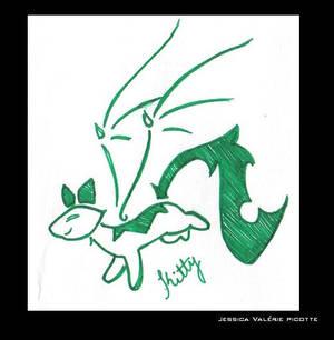 tattoo tribal-green.2
