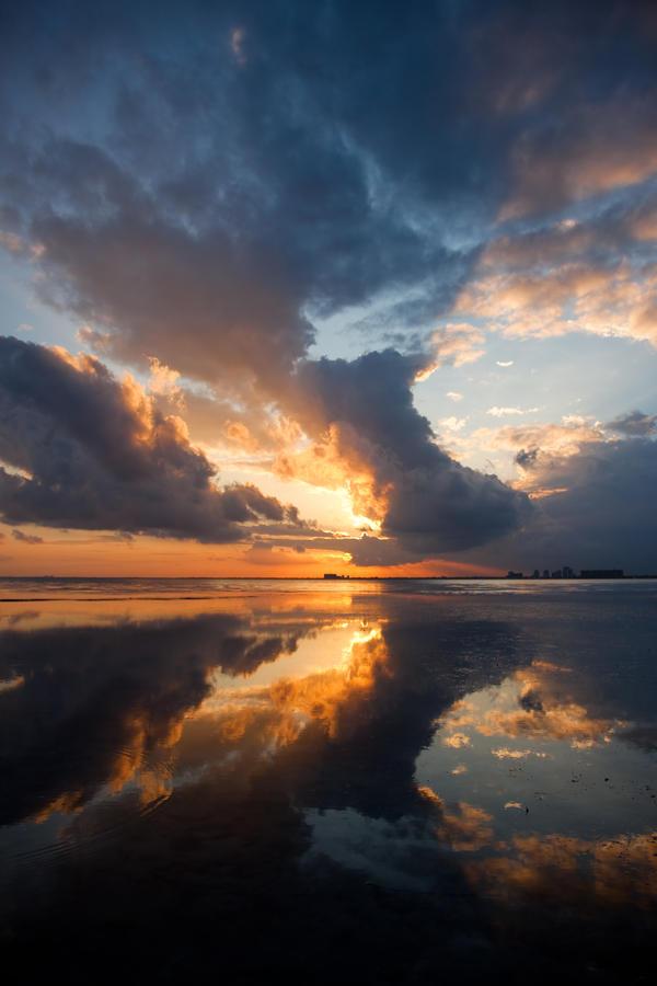 Miami Sunset by sassamafracken