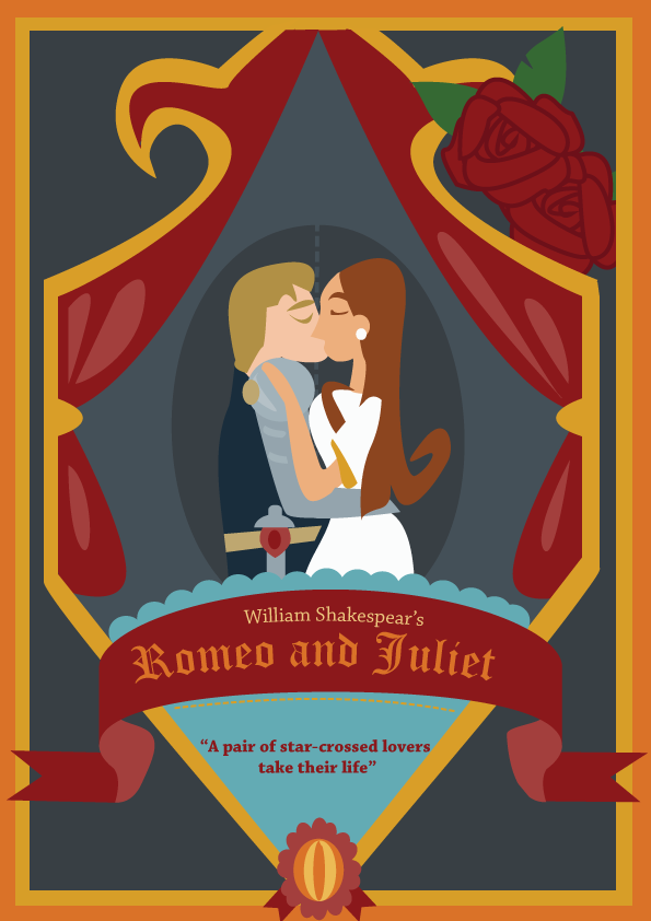 Romeo and Juliet poster by madamemoose on DeviantArt